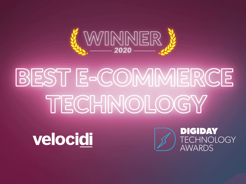 Velocidi Named Best E-Commerce Technology at Digiday Technology Awards